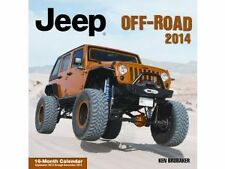 JEEP OFF ROAD CALENDAR 2014 WRANGLER CHEROKEE GRAND CHEROKEE PATRIOT TJ KJ CJ