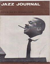 OCT 1963 JAZZ JOURNAL vintage music magazine ERROLL GARNER