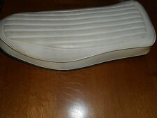 Harley-Davidson Ironhead Sportster  Buddy Seat White with Gold stripping