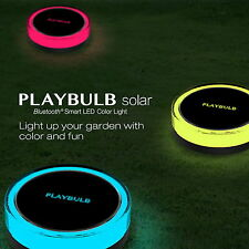 PLAYBULB Waterproof Color Smart Solar Light Yard Lawn Outdoor Decor Garden Lamp