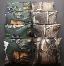 CORNHOLE BEAN BAGS REALTREE Camo Camouflage Real Tree Cabin Hunting Fishing Gear