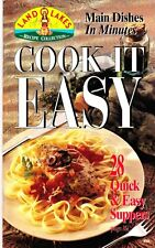Land O Lakes Main Dishes in Minutes Cook It Easy Cookbook #29
