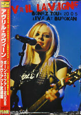 "AVRIL LAVIGNE ""BONEZ TOUR 2005 - LIVE AT BUDOKAN"" JAPAN DVD *SEALED*"