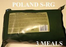 Food Ration MILITARY ARMY Daily Pack POLISH 24H 3MEALS MRE Emergency Set Combat