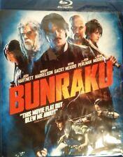 BUNRAKU (2010) Blu-ray Josh Harnett Woody Harrelson Gackt Ron Perlman Demi Moore
