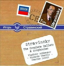 Stravinsky: Complete Ballets & Symphonies [7 CD Box Set], New Music