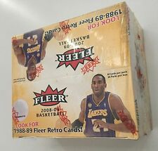 2008-2009 Fleer Basketball Sealed 36-pack Box! Russell Westbrook Rookies!!!