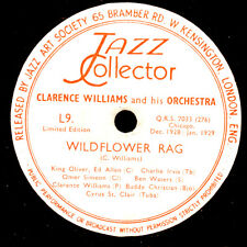 CLARENCE WILLIAMS & ORCH. Wildflower Rag / Midnight Stomp Schellack 78rpm X2870
