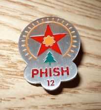 Phish official pin Pelham, AL 8/24/12 solid pewter RARE LE of just 400