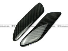 2pcs Rear Spoiler End Cap  For MAZDA RX7 FD3S Mazdspeed Carbon Fiber Racing EPR+