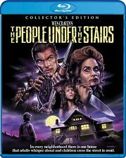 THE PEOPLE UNDER THE STAIRS New Sealed Blu-ray Collector's Edition Wes Craven