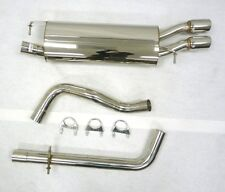 OBX Catback Exhaust for 1998 99 00 01 02 03 04 VW Golf IV 1.8L