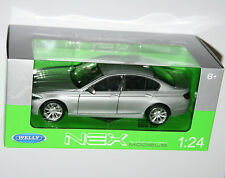 Welly - BMW 535i (Silver) Die Cast Model - Scale 1:24