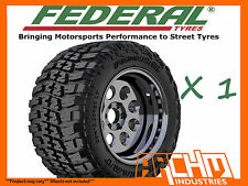 35 12.5 R20 FEDERAL M/T MUD TERRAIN TYRE 4WD / SUV / LT AWESOME QUALITY
