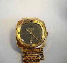Vintage Nivada Grenchen Leonardo Da Vinci Automatic Watch 21 jewels