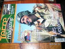 Terre magazine  n°182 Vie de famille / Un hiver à Kaboul Vauban