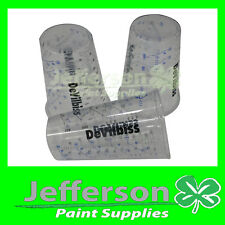 DEVILBISS 50x 600ml PAINT MEASURING/MIXING CUPS AUTO BODY PAINT