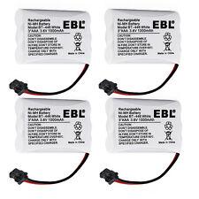 4x 1000mAh Battery For Uniden BT-446 BP-446 BT-1005 ER-P512 TRU-446 TRU-448