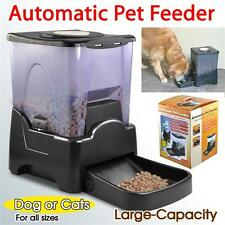 Automatic Pet Dog Cat Food Feeder Programmable Timer Portion Control LCD Display