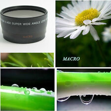 52MM 0.45x Soft Fisheye Wide Angle Macro Lens for Nikon D3200 D3100 D5200 D5100.