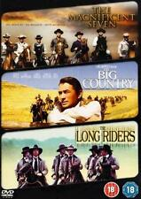 THE MAGNIFICENT SEVEN*BIG COUNTRY*LONG RIDERS Epic Action Westerns DVD *EXC*