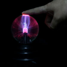 3in USB Plasma Ball Sphere Light Magic Crystal Lamp Desktop Globe Laptop JZ~