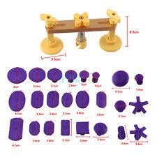 Voiture Dent Repair Removal PDR Bridge Pullers Ensembles & 24 Pcs Glue Tabs Kit