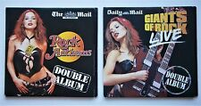 2 x UNUSED MAIL GROUP CDs - ROCK ANTHEMS CD1 & GIANTS OF ROCK LIVE DISC 1