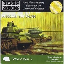 WW2V15001 15MM RUSSIAN T34 76/85 TANK - PLASTIC SOLDIER COMPANY WW2