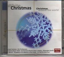 (CX224) White Christmas, Christmas Around The World  - 2002 CD