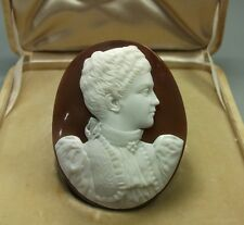STUNNING CAMEO OF ELENA QUEEN OF ITALY ( CASED) - LAYAWAY WELCOME!