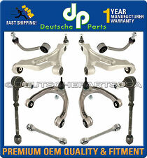 AUDI Q7 UPPER LOWER Control Arm Arms Ball Joint Joints Tie Rod SUSPENSION KIT