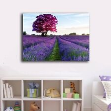 60×90×3cm Lavender Canvas Prints Framed Wall Art Home Decor Painting Office Gift