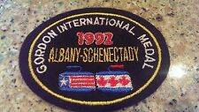1992 CURLING Gordon International Medal Albany-Schenectady patch