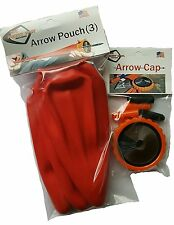 THE POCKET SHOT Orange Arrow Pouch and Whisker Package Shoot Arrows 130 FPS!