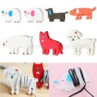 Cute Animal Earphone Headphone USb Cable Cord Organizer Holder Wire Wrap Winder