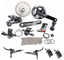 Shimano Deore XT M8000 Full Disc Brake Groupset Group M8020-L 2x11 Speed