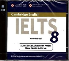 Cambridge IELTS 8 Audio CD's ESOL Examination Papers @NEW & SEALED@