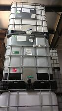 USED FOOD GRADE 275 gallon IBC Liquid Storage Totes
