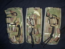 3X British Army Osprey MK4 SINGLE Elastic Securing Magazine Pouch MTP Super Gr1