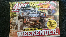4WD Action DVD 220 - Our Toughest Weekender! Watagans, north of Sydney