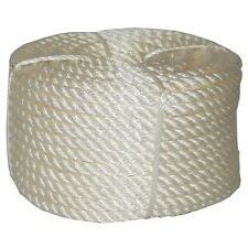 T.W . Evans Cordage 32-022 3/8-Inch by 100-Feet Twisted Nylon Rope Coilette New