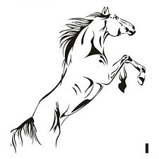1x Running Horse Decor DIY Chinese Style Sturdy Steeds Home Decals Art Stickers