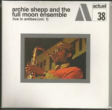 Live in Antibes Vol.1 Archie & Full Moon Ensemble Shepp [CD Papersleeve] Neu!