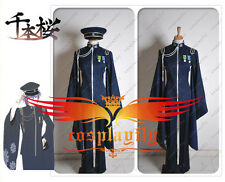 Vocaloid Kaito Senbon Sakura Uniform Cosplay Costume Custom Size