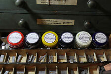 letterpress ink starters pack 30g x 6 (A)