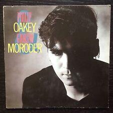 PHILIP OAKEY & GIORGIO MORODER s/t LP+inner UK 1985 Virgin 207 216
