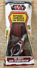 Star Wars Speed Stars Obi-Wan's Jedi Starfighter Ripcord-Launched for Speed