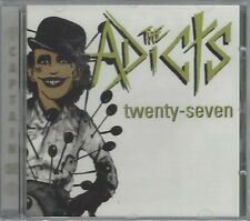 THE ADICTS - TWENTY-SEVEN - (still sealed cd) - AHOY CD 203