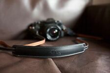 Handmade Genuine real leather camera strap neck strap for EVIL FILM Camera01-062